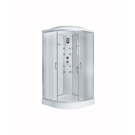 Masažinė dušo kabina Erlit 4509P-C3; 90 x 90 cm; 4 dalys