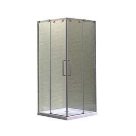 """Kvadratinė dušo kabina be pado """"K-073A"""" (MASTERJERO)"""