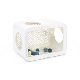 Katės žaidimų vieta, balta, Cube Beeztees