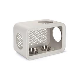 Katės valgymo vieta, pilka, Cube Beeztees