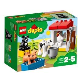 KONSTRUKTORIUS LEGO DUPLO 10870 FERMOS GYVŪNAI