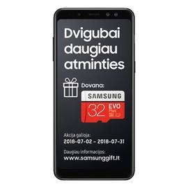 TEL MOB SAMSUNG GALAXY A8(2018) DS BLACK