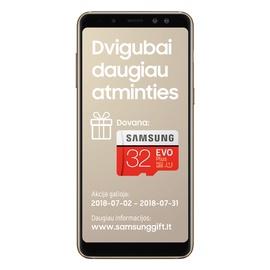 TEL MOB SAMSUNG GALAXY A8(2018) DS GOLD