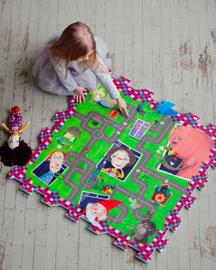 Žaisl dėlionė kilimėlis Kakė Makė