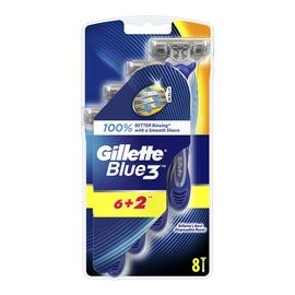 SKUSTUV VIENK GILLETTE.BLUE 3, 6VNT+2VNT