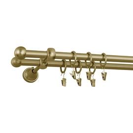 Kardinapuu komplekt Okko, 16/16mm, 2 rida, 240 cm, kuldne
