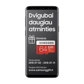 MOBILUSIS TELEFONAS SAMSUNG GALAXY S9 BLACK