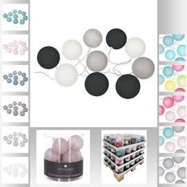 Girlianda LED burbulai, 10 burbulų, 6 cm skersmens