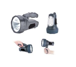 PROŽEKTORIUS (GD-3101; 3W LED+15LED) (Haushalt)