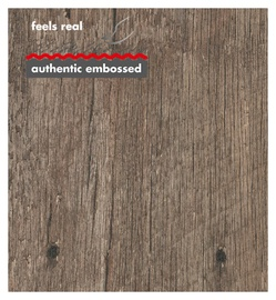 Laminuotos medienos plaušų dailylentės Krono Original, KW3DK061, 12 mm x 1296 mm x 132 mm, 1,37 m2