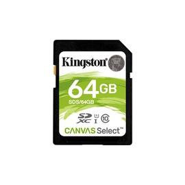 KORTELĖ ATM SD 64GB C10 SDS/64GB (KINGSTON)