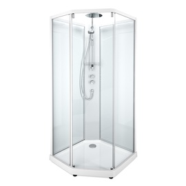 Dušo kabina Ido Showerama 10-5 Comfort, 90 cm x 90 cm (4 dalių)
