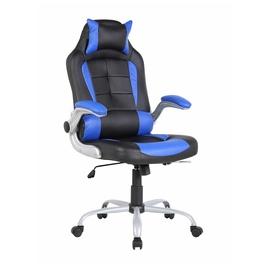 Kėdė 6128 juoda / mėlyna