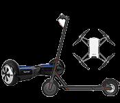 Dronai, riedžiai, paspirtukai ir išmanioji technika