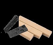 Statybinė mediena, plytos