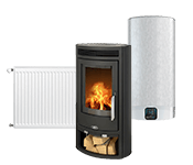 Šildymo įranga, boileriai ir šildymo prietaisai