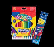 Pieštukai, flomasteriai, spalvininimo priemonės
