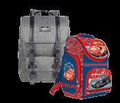 Vaikiškos kuprinės, lagaminai ir skėčiai
