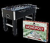 Stalo žaidimai, žaidimų stalai