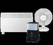 Šildymo, klimato kontrolės technika ir temperatūros, slėgio matuokliai