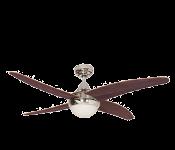 Šviestuvai - ventiliatoriai