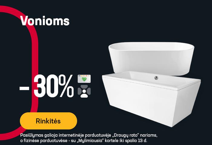 Vonioms -30 %