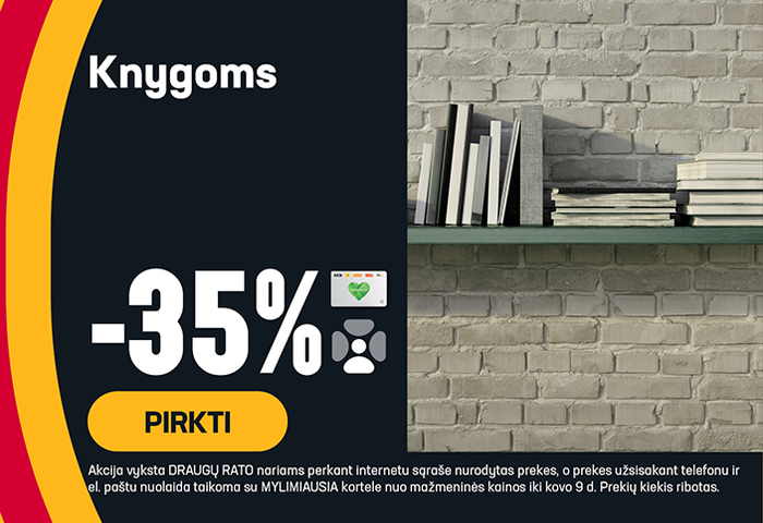 Knygoms -35%
