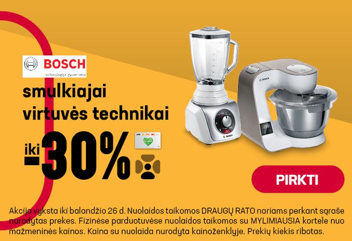 Smulkiai virtuvės technikai iki - 30 %