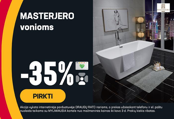 MASTERJERO vonioms -35 %