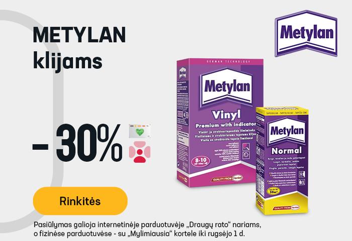 METYLAN klijams -30 %