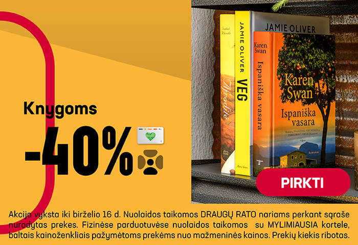 Knygoms -40 %