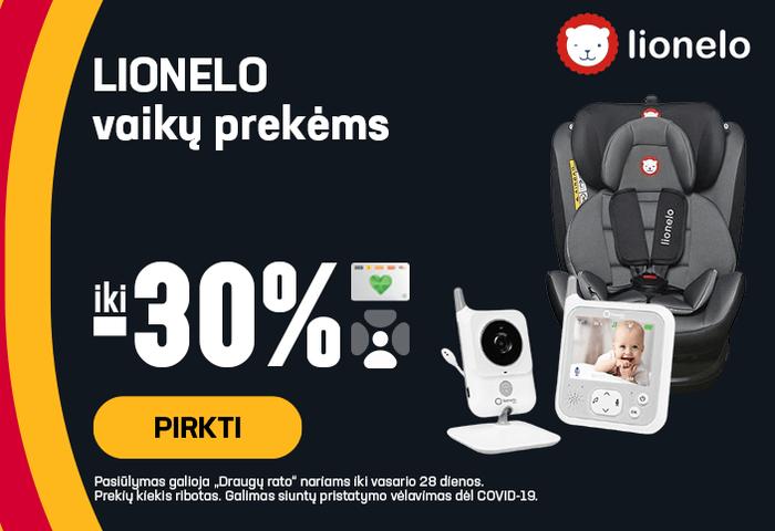 Iki -30% Lionelo vaikų prekėms