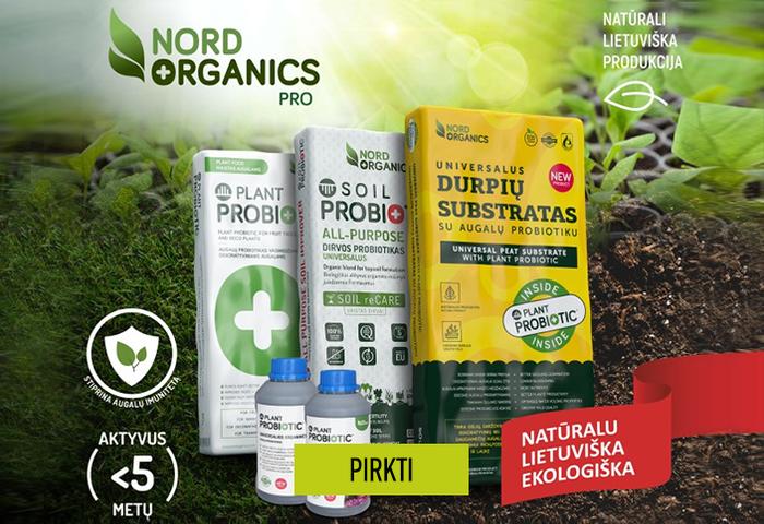 Natūrali lietuviška produkcija - NORD ORGANICS