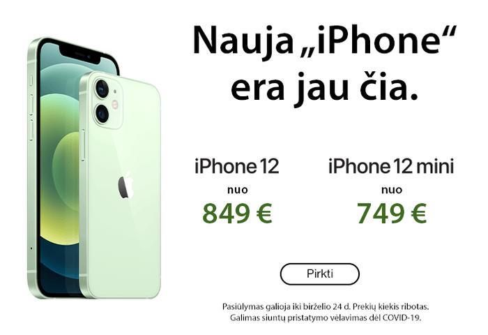Nauja ,,Iphone'' era jau čia