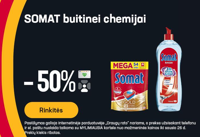 SOMAT buitinei chemijai -50%