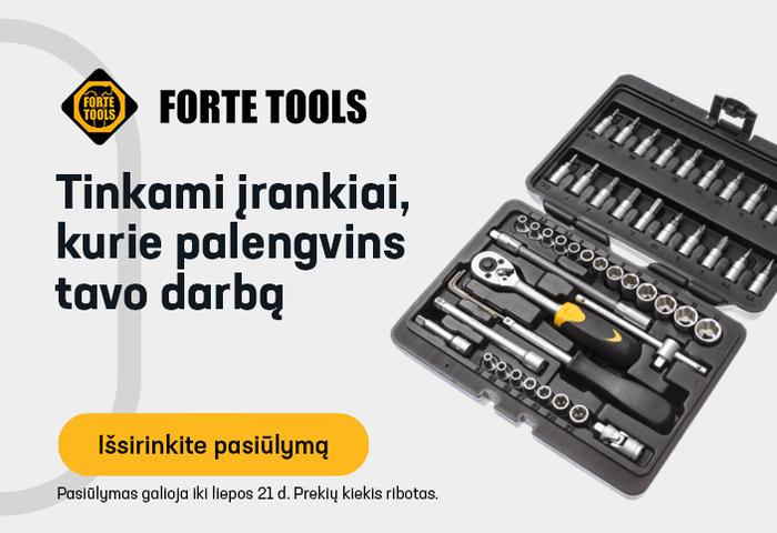 Tinkami įrankiai, kurie palengvins tavo darbą