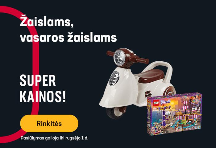 Žaislams, vasaros žaislams - SUPER KAINOS