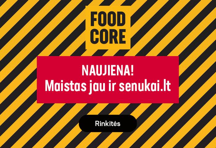 Įsigykite ilgai negendančių maisto produktų Senukai.lt
