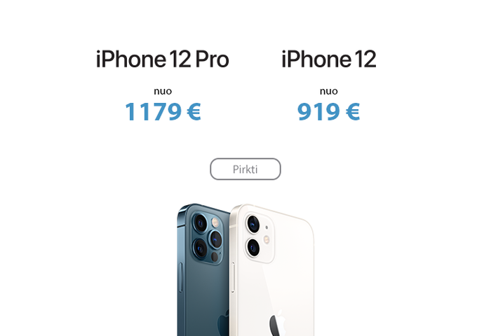 Apple iPhone 12 ir iPhone 12 Pro