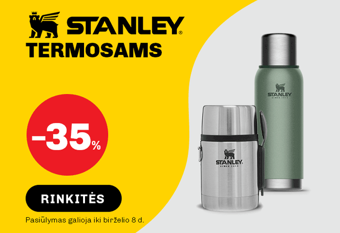 STANLEY termosams -35 %